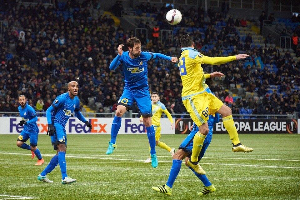 «Астана» одержала волевую победу над АПОЭЛ