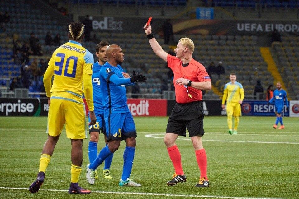 «Астана» одержала первую победу вгруппе Лиги Европы