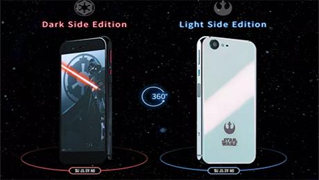 ВЯпонию приходят мобильные телефоны ссимволикой «Звездных Войн»