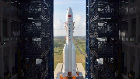 КНР выполнил 1-ый успешный запуск ракеты-носителя «Чанчжэн-5»