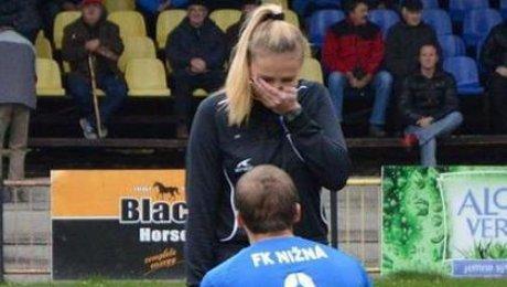 ВСловакии игрок перед матчем сделал предложение девушке-арбитру