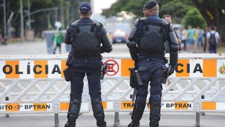 ВРио-де-Жанейро упал полицейский вертолет: четверо погибших