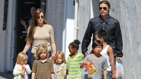 Анджелина Джоли запрещает Питту видеться сдетьми