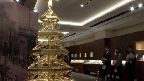 Японцы создали новогоднюю елку за2 млн. долларов