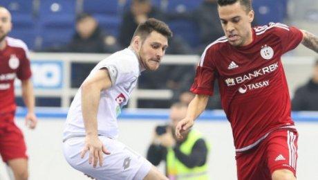 «Кайрат» завоевал путевку в«Финал четырех» кубка УЕФА пофутзалу