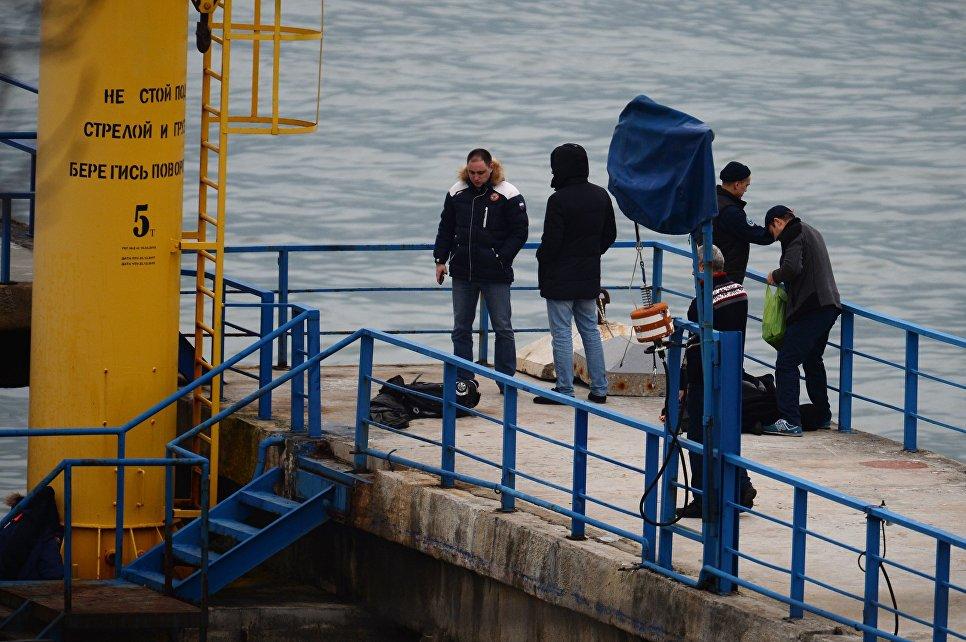 Врайоне катастрофы Ту-154 вЧерном море идут поисковые работы