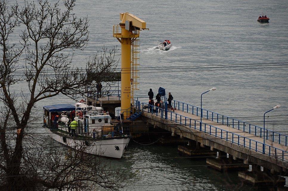 Минобороны РФ: Район катастрофы сТу-154 определен, выживших не прослеживается