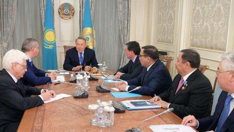Нурсултан Назарбаев встретился сПредседателем Правительства Российской Федерации Дмитрием Рогозиным