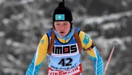 Казахстанка показала лучший результат за 20 лет в биатлон-спринте на этапе  ...