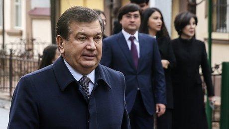 Мирзиёев уже празднует победу навыборах вУзбекистане