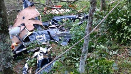 При крушении вертолета вБразилии погибли 4 человека
