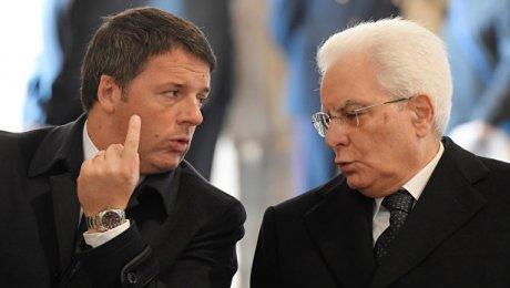 Президент Италии непринял отставку Маттео Ренци