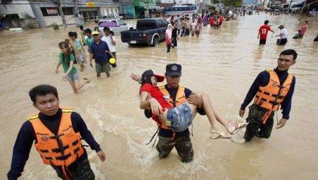 Наюге Таиланда в итоге наводнений погибли 11 человек