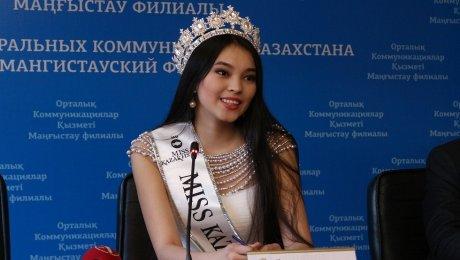 Алия Мергембаева покинула конкурс «Мисс Мира-2016»