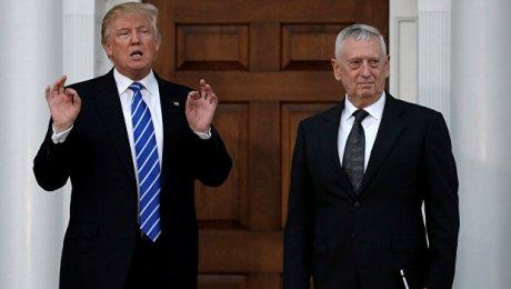 Трамп выдвинул генерала Мэттиса надолжность руководителя Пентагона