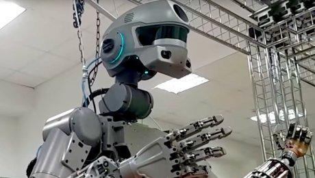 Робот «Федор» изМагнитогорска готовится ксерьезным испытаниям
