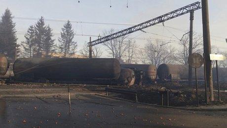 ВБолгарии 4 человека погибли при сходе срельсов товарного поезда