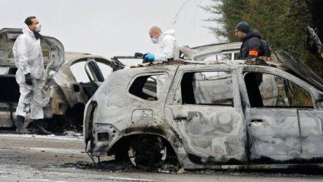 ВоФранции неизвестные ограбили фургон с70кг золота иподожгли инкассаторов