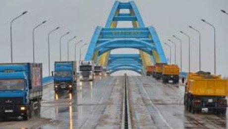 ВПавлодаре сейчас самый длинный вЦентральной Азии мост