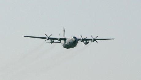 Военно-транспортный самолет «Геркулес» ВВС Индонезии разбился впровинции Папуа