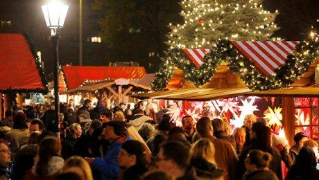С рождественского рынка в Берлине, где произошёл теракт, снято оцепление