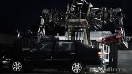 ВСША показали робота, способного разрушать автомобили