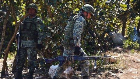 ВМексике неменее 10 человек погибли встычке наркокартелей