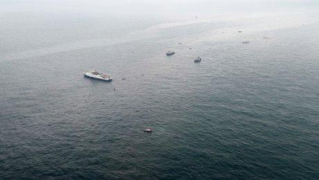 ВЧёрном море обнаружили схожий нафюзеляж Ту-154 объект