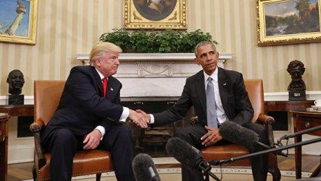 Трамп сказал об«очень приятном» разговоре сОбамой