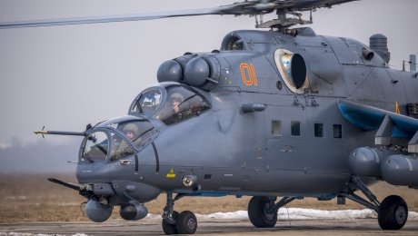Первые русские вертолеты Ми-35М поступили вВВС Казахстана