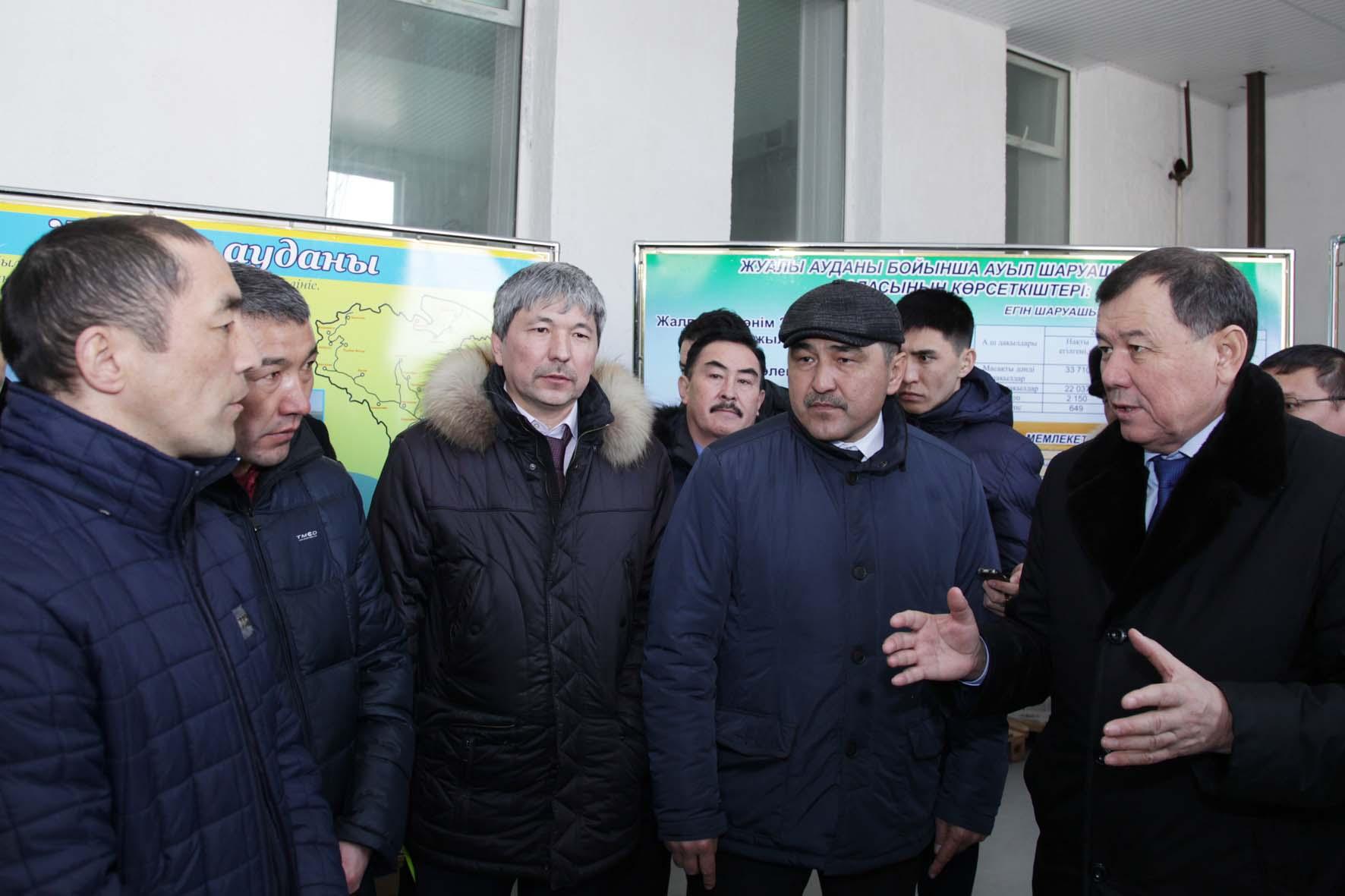 особо охраняемых природных территориях и государственном лесном фонде рассмотрены на коллегии в жамбылской