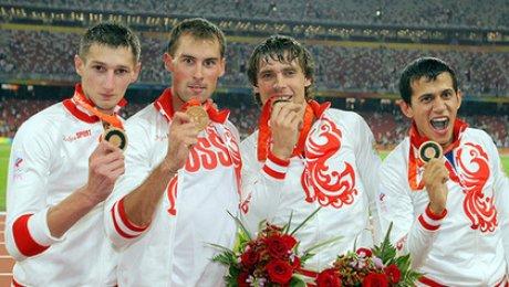 Олимпийский комитет Российской Федерации сообщил медаль легкоатлета Кокорина вМОК