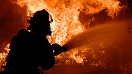 Впожаре в личном доме вАлматы умер мужчина