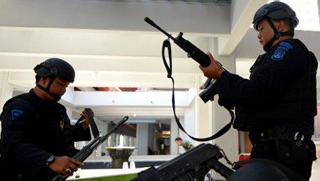 ВИндонезии вправительственном помещении сработала бомба