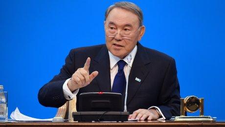 Путин провел встречу сНурсултаном Назарбаевым