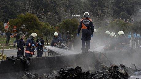 Количество жертв при катастрофе вертолета вСтамбуле возросло до 7-ми