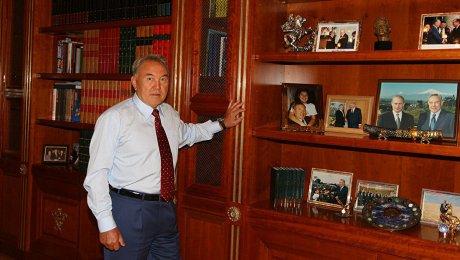 Путин обсудил сНазарбаевым результаты межсирийских переговоров