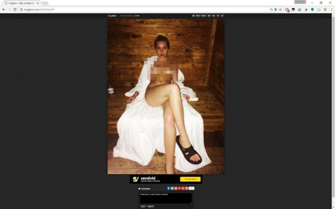 Вглобальной web-сети опубликовали фото безусловно обнаженной Майли Сайрус всауне