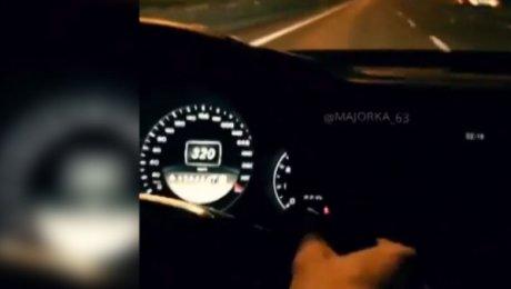 Mercedes неведомой «мажорки» пролетел по столице наскорости 320 километров вчас