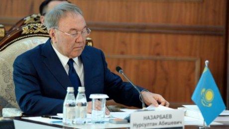«Страны ЕАЭС должны помогать друг другу»— Нурсултан Назарбаев
