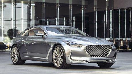 Genesis создаст конкурента купе БМВ и Мерседес-Бенс