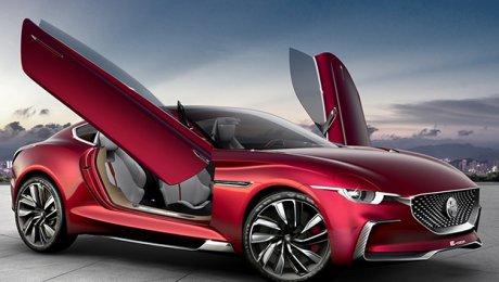 MG Motor представил электрическое спортк ...