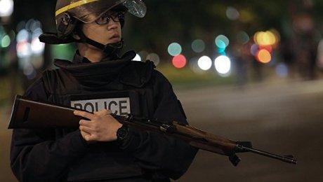 Встолице франции разогнали митингующих при помощи слезоточивого газа