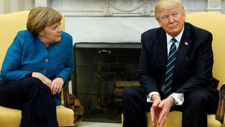 Трамп поведал, почему непожал руку Меркель