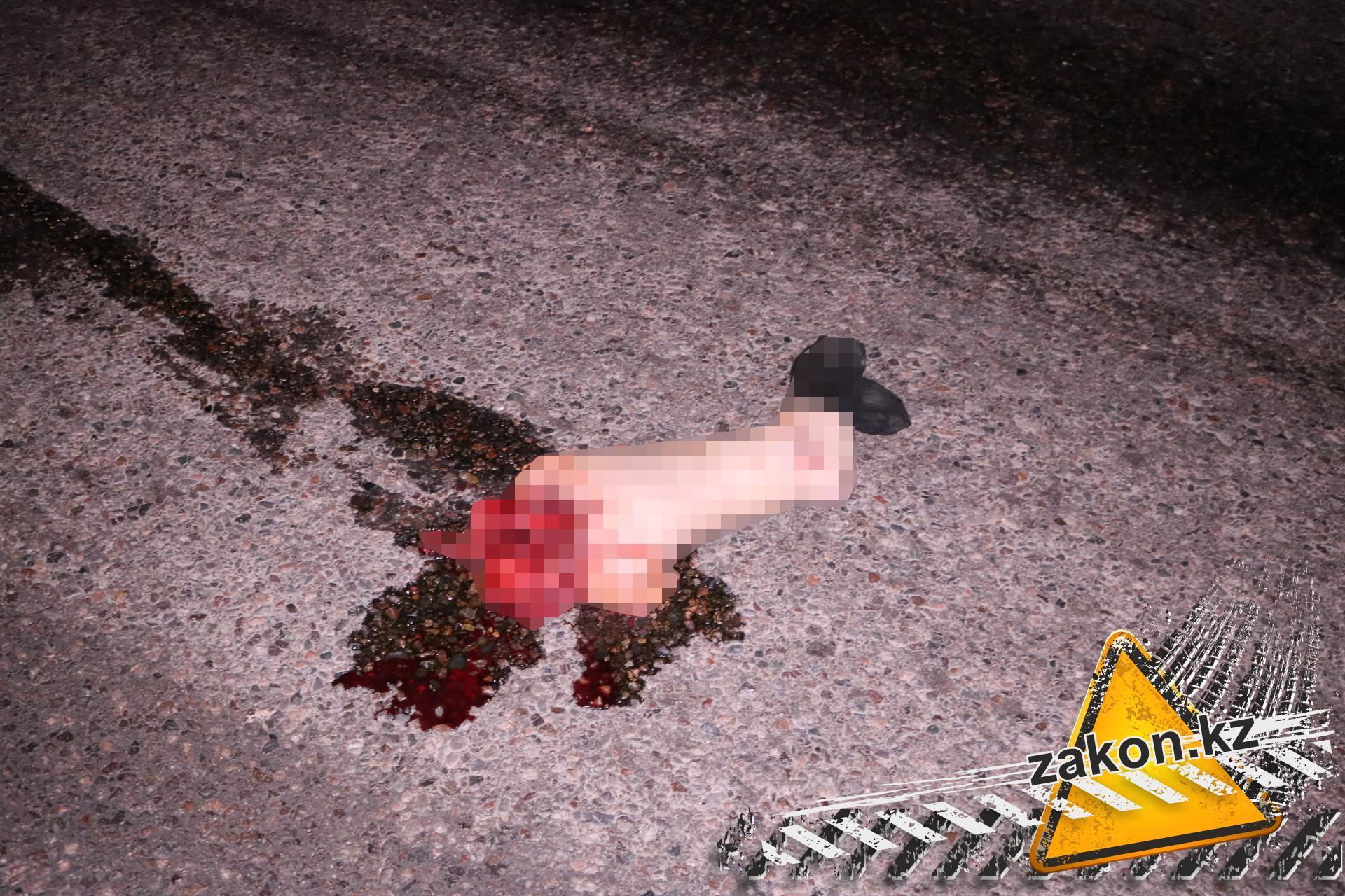 ВАлматы вДТП синкассаторским автомобилем женщине оторвало ногу