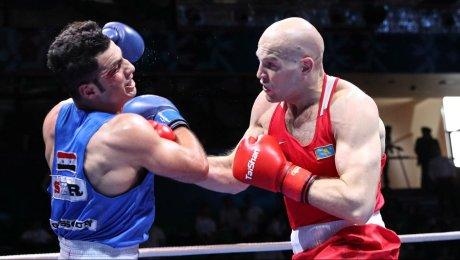 Василий Левит стал трехкратным чемпионом Азии