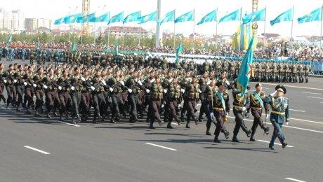 ВКазахстане прошёл самый масштабный военный парад вистории страны