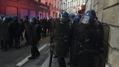 Встолице франции прошли столкновения демонстрантов сполицией