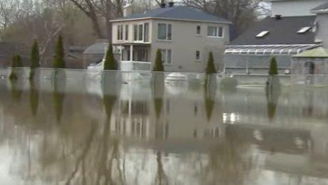 Из-за угрозы наводнений эвакуировали практически 800 человек вКвебеке