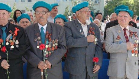 В Казахстане отмечают День Победы